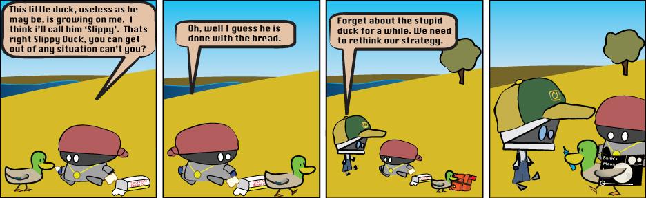Slippy Duck